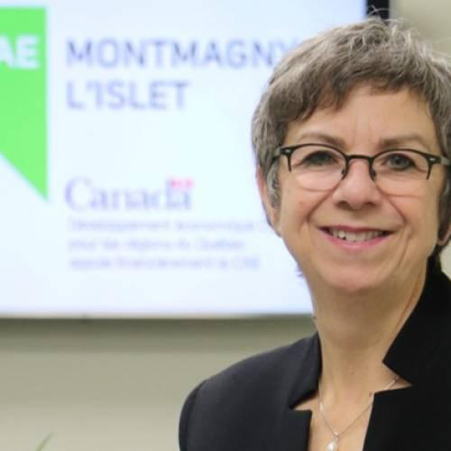 Mireille Thibault nommée à la direction générale